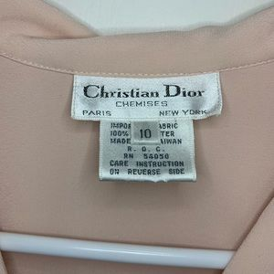 Dior Tops - Christian Dior Chemises Vintage 90s Blouse